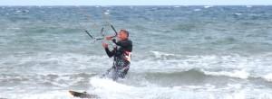 Wellenreiten an der Ostsee