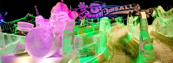 die größten Eisskulpturen
