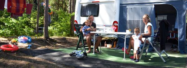 Campingspaß an der Ostsee © www.karlshagen.de
