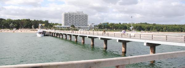 Brücke in der Ostsee