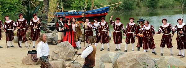 © Piraten Action Open Air - Die Open Air Bühne befindet sich in Grevesmühlen an der Ostsee