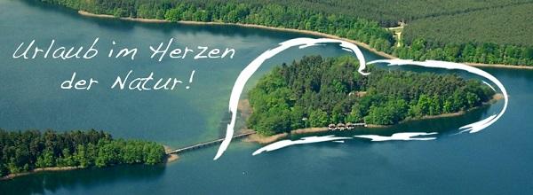 © Inselhotel Brückentinsee. Die Herzinsel in Mecklenburg-Vorpommern ist ideal für Naturfreunde.